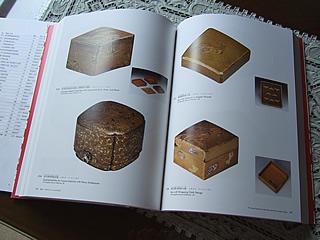 『japan 蒔絵』展 図録のページ:バーリーハウスコレクションの箇所