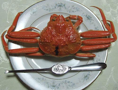 輪島からの蟹