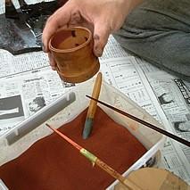 お箸の制作