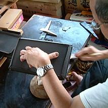 輪島塗の製造工程 下地