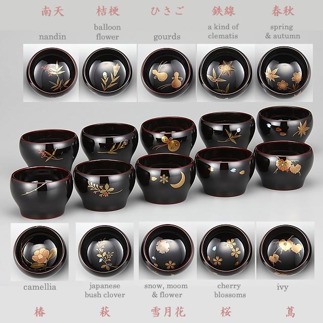 "<p class=""eig"">Urushi Art Wajimanuri:sake cup (a single article) (code:3162)</p><p>輪島塗 ぐい呑み 溜塗り 草花季節蒔絵 1客</p>"