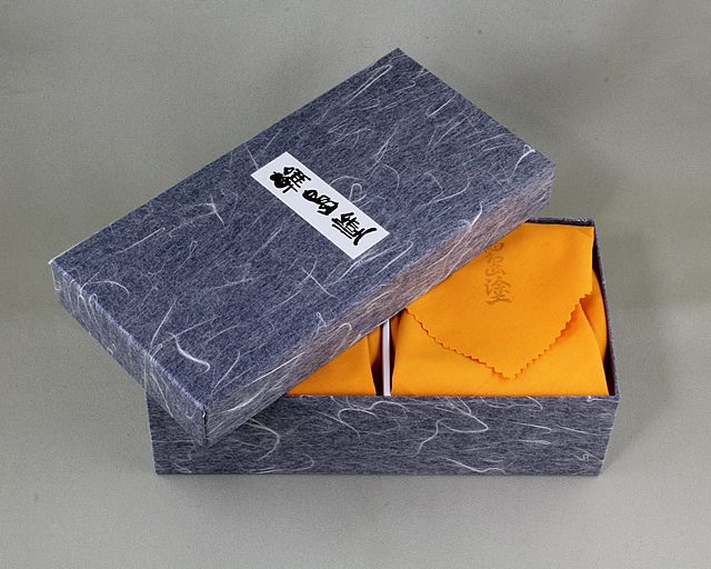 夫婦椀 スノークリスタル蒔絵の紙箱