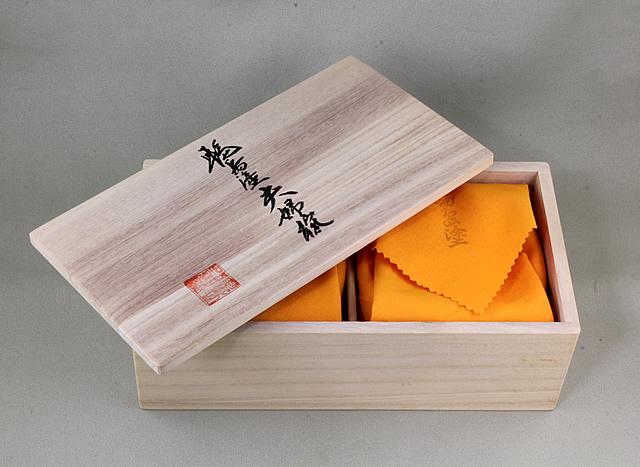 夫婦椀 スノークリスタル蒔絵の桐箱