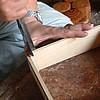 Album 製造工程/画像:指物の制作